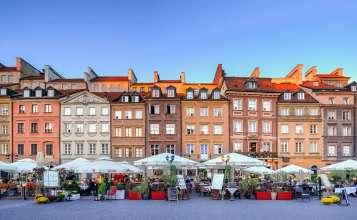 Noclegi na Starym Mieście w Warszawie