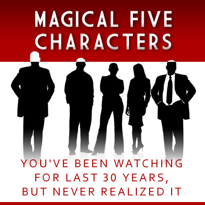 Pięć postaci, które oglądałeś od lat, ale nie zdawałeś sobie z tego sprawy